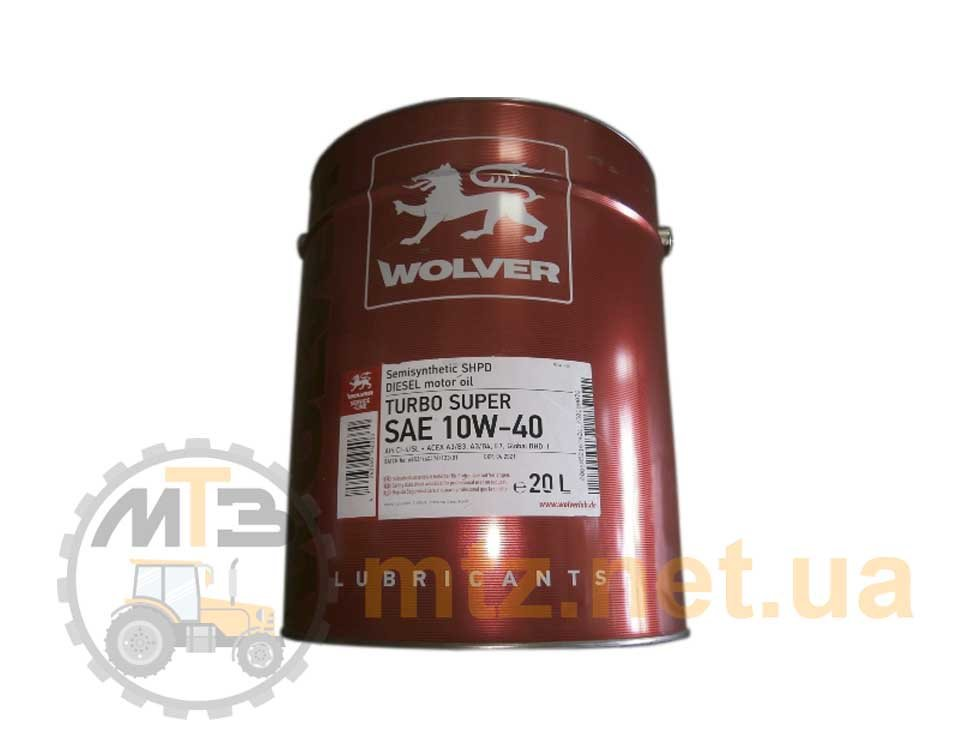 Моторное масло Wolver STOU SAE 10W-30 (20 л)